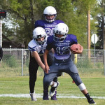 Terry Jr. High football vs. Custer/Hysham - September 26th
