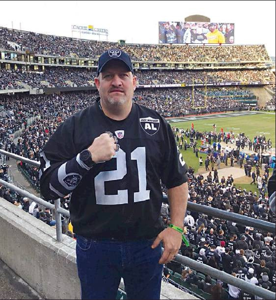 Local Raiders fan witnesses NFL History