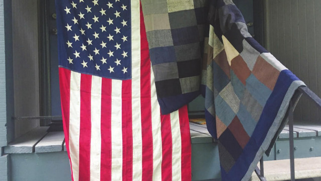 WWII quilt to go on display here