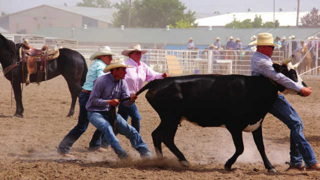 Cowpokes compete in MC Ranch Rodeo