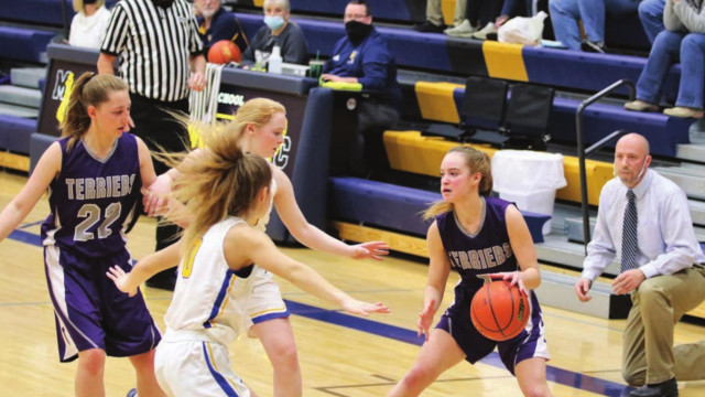 Lady Terriers fight hard but end season in 4C tournament