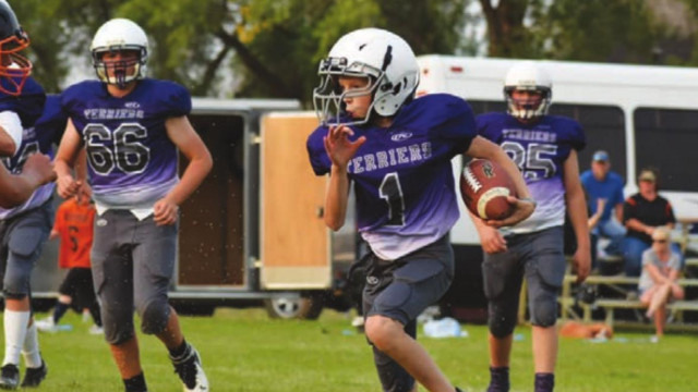Terry football action
